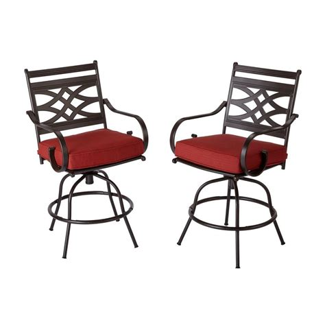 motion patio chairs hton bay middletown patio motion balcony chairs with