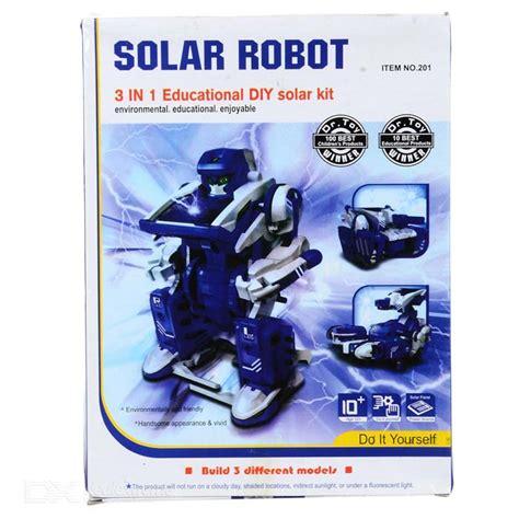Solar Robot 3 In 1 Solar Robot Pegasus Mainan Edukasi Kit 3 in 1 transforming solar robot diy assembly kit free shipping dealextreme