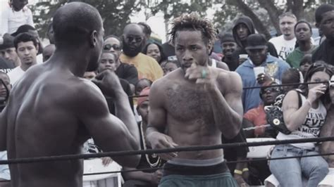 level backyard fights documentary on miami dade county back yard boxing ring to