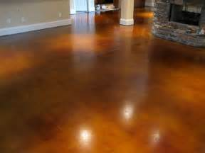 How To Seal Basement Concrete Floor photo gallery get the look stained floors franklin