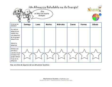printable food diary for toddlers es spanish childrens lunch food diary printable kids write