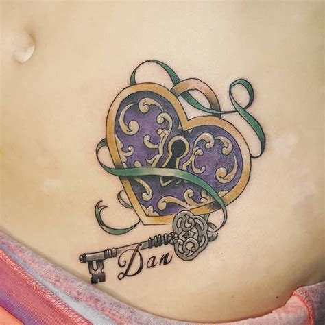 85  Best Lock and Key Tattoos   Designs & Meanings 2018