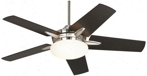 52 quot casa endeavor brushed nickel espresso ceiling fan