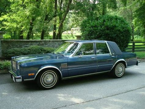 buy used chrysler 5th avenue fifth ave new yorker 1989