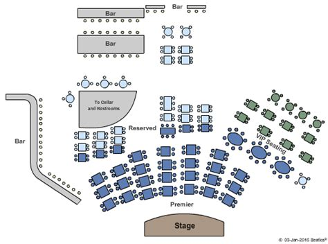 city winery seating chart concert venues in new york ny concertfix