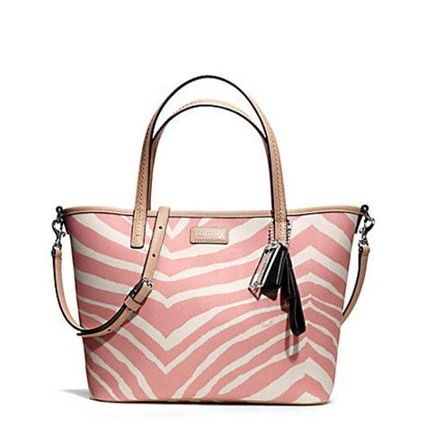 Coach Metro Park Tote coach f26999 park metro zebra small tote coach handbags coach handhandbag
