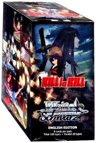 Weiss Schwarz Tcg Kill La Kill Cards Booster Box weiss schwarz kill la kill booster box weiss schwarz 187 weiss schwarz booster boxes collector