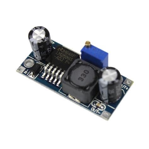 Lm2596 Adjustable Dc Dc Stepdown Module smart electronics lm2596 lm2596s adj dc dc step module 5v 12v 24v adjustable voltage