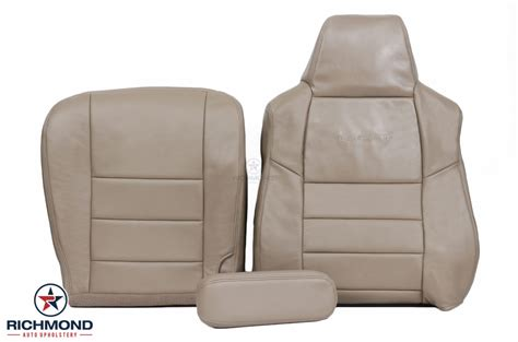 ford   lariat leather seat cover driver side complete set tan richmond auto