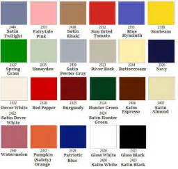 krylon color chart rust oleum ultra cover 2x gloss crafts