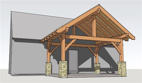timber frame house insurance 12x16 timber frame porch