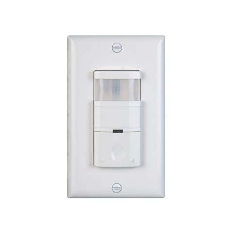 motion detector light switch nicor 120 277 volt occupancy vacancy passive infrared