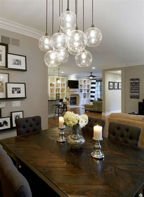 pendant lighting dining room table 25 best ideas about dining room lighting on