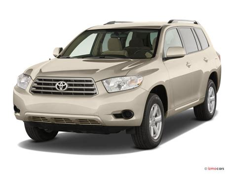 2008 Toyota Highlander Reviews 2008 Toyota Highlander Prices Reviews And Pictures U S