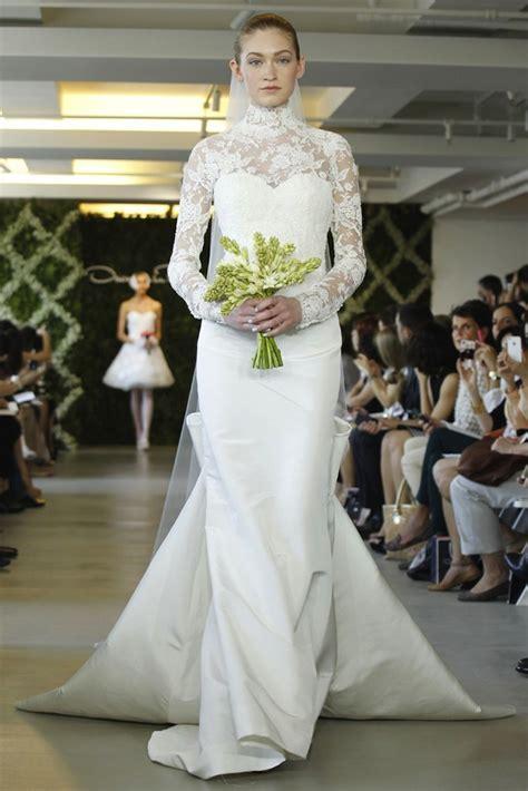 wedding dresses for traditional church ceremonies Oscar de