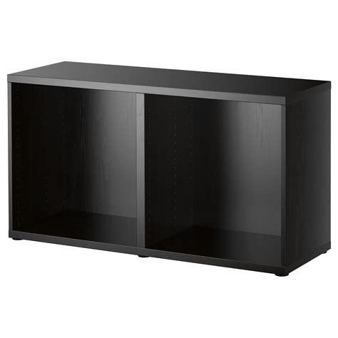 besta black brown best 197 frame black brown 120x40x64 cm ikea