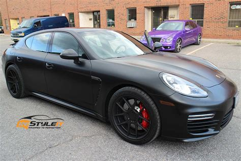 matte black porsche panamera 9 porsche panamera black on black exles that look