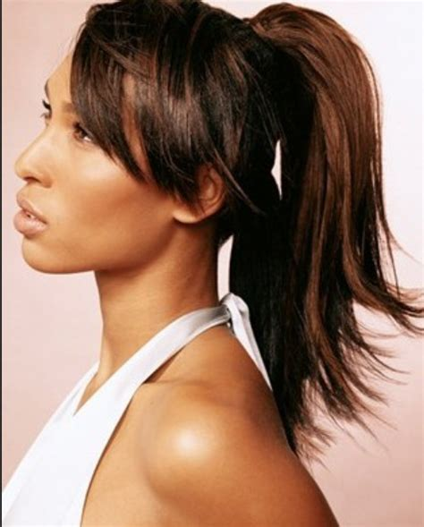 ponytails for short hair african american hair african american ponytail hairstyles 15 african american