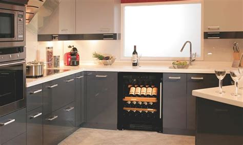 under bench wine fridge wine fridges cabinets with integrated doors for your kitchen