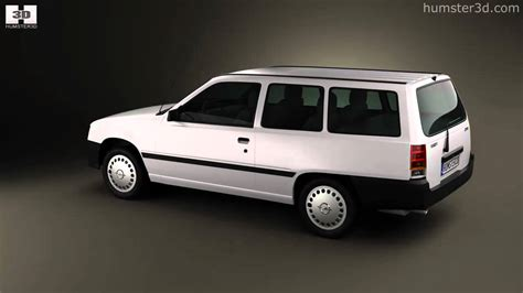 Drs Mocca opel kadett e caravan 3 door 1984 1991 by 3d model store