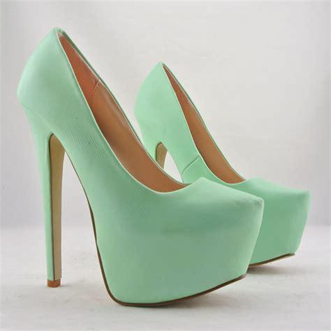 imagenes de tacones verdes zapatillas color verde menta