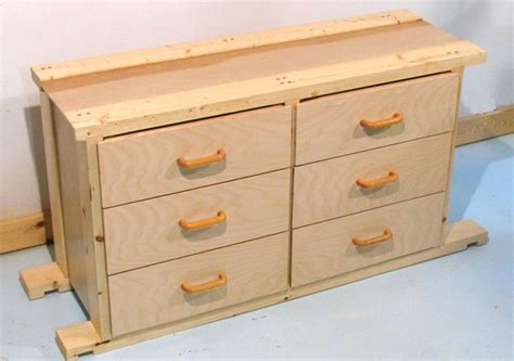 How To Build A Dresser Drawer by Building A Chest Of Drawers