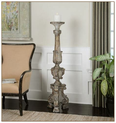 Wall Pillar Candle Holders by Floor Pillar Candle Holders Home Ideas