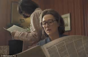 movie spoiler the post by meryl streep and tom hanks steven spielberg and meryl streep talk up biopic the post daily mail online