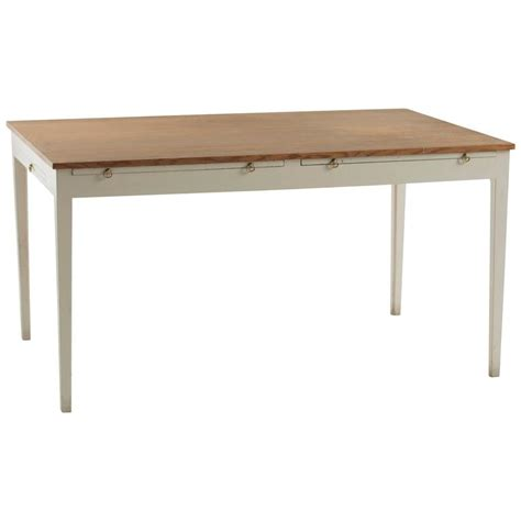 desk with extension leaves by edvard thomsen for sale at