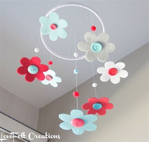 Handmade Baby Mobile Ideas - 25 best ideas about felt mobile on felt