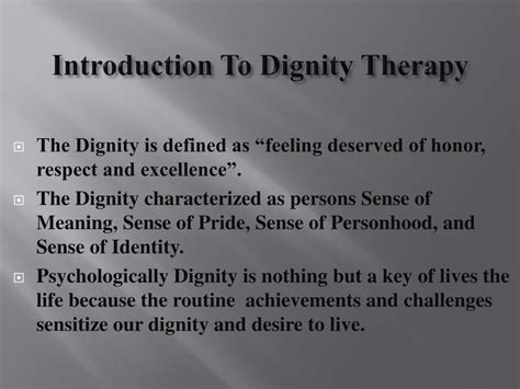 being with patients an introduction to the psychotherapy of harry stack sullivan m d and otto allen will jr m d books ppt introduction to dignity therapy powerpoint