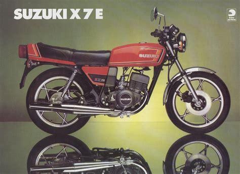 suzuki gt200 x5 and gt250 x7 brochures