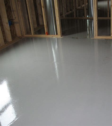 Gypcrete Flooring by Pictures Alternative Heating Solutions Inc