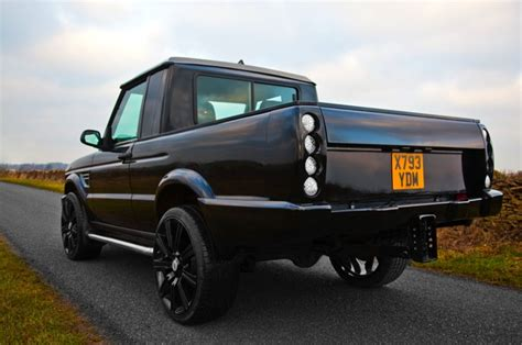 land rover discovery pickup black discovery td5 pickup by longranger landrover tuning special series pinterest land