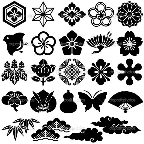 asian designs japanese design patterns japanese traditional icons stock vector 169 lalan33 3975151