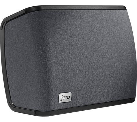 Room Speakers by Jam Rhythm Wireless Smart Sound Multi Room Speaker Black