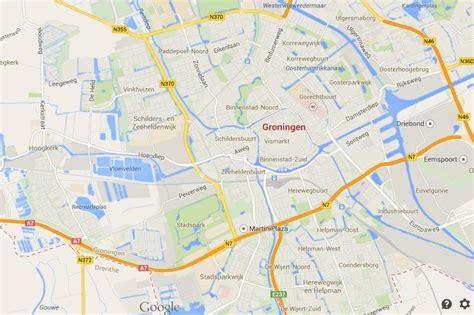netherlands map groningen map of groningen world easy guides