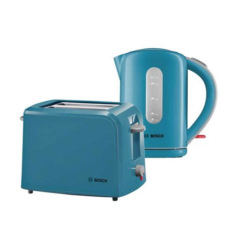 Pale Blue Toaster Bosch Collection Kettle Toaster Bundle Pack