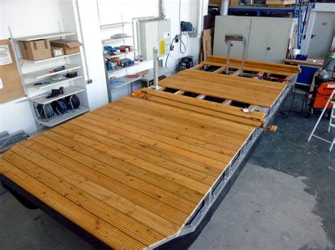 pontoon boat flooring diy boat kits the individual kit for your pontoon boat by perebo