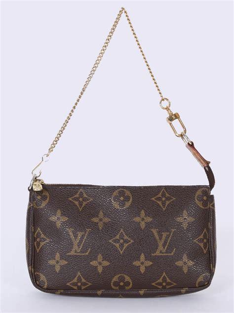 louis vuitton small pochette monogram canvas luxury bags
