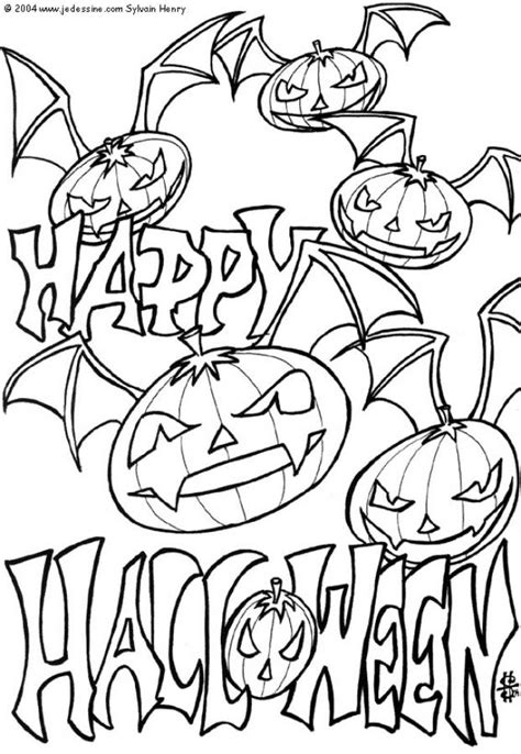halloween coloring pages pinterest scary halloween coloring pages coloring pages for kids