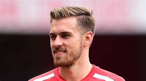 arsenals aaron ramsey haircut haircut  men