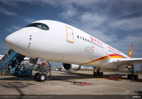 Southern Comfort Com Hong Kong Airlines Receives First A350 Thedesignair
