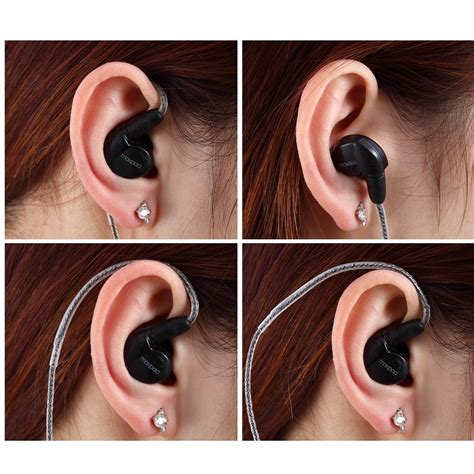Best Seller Moxpad X6 Noise Isolating In Ear Stereo Headset Earphone moxpad x6 earphone noise isolating black