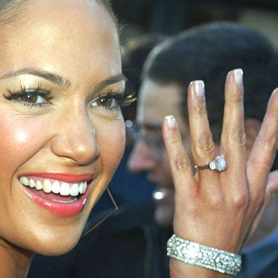 Posh Wants To Borrow Jlos by Beckham Robbins Brothers Engagement Rings