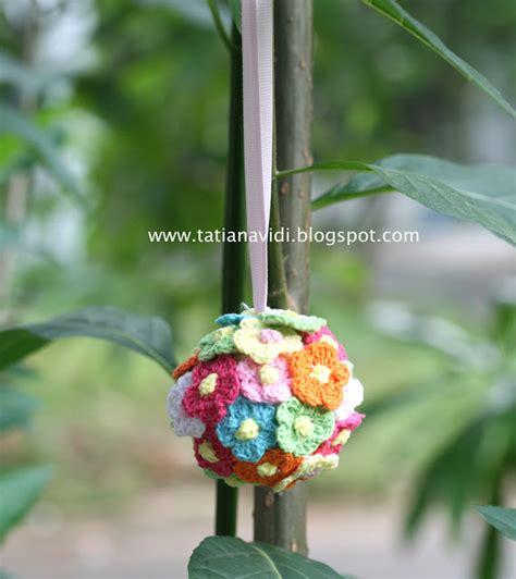 tutorial rajut bunga tatiana vidi sewing blog free tutorial ke 8 pom pom