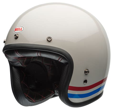 bell custom  stripes helmet revzilla