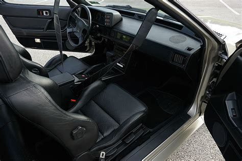 mitsubishi conquest interior the chrysler conquest tsi is a forgotten 1980s gem