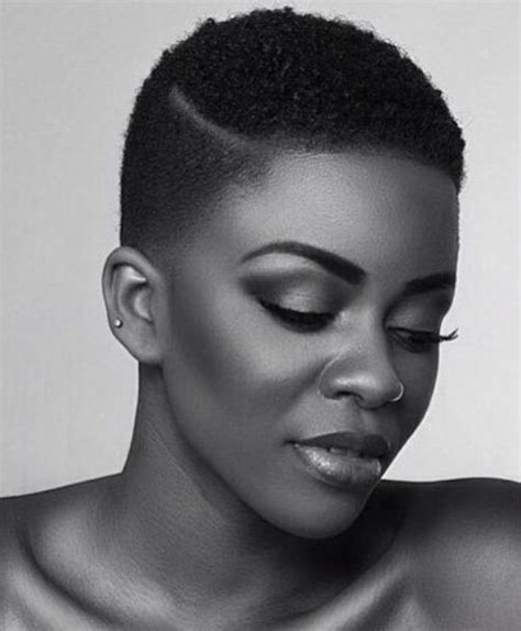 short natural hairstyles when shaved on one side and in back 20 voguish natural hairstyles