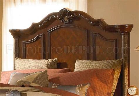 mediterranean bedroom set cherry finish mediterranean classic 5pc bedroom set w